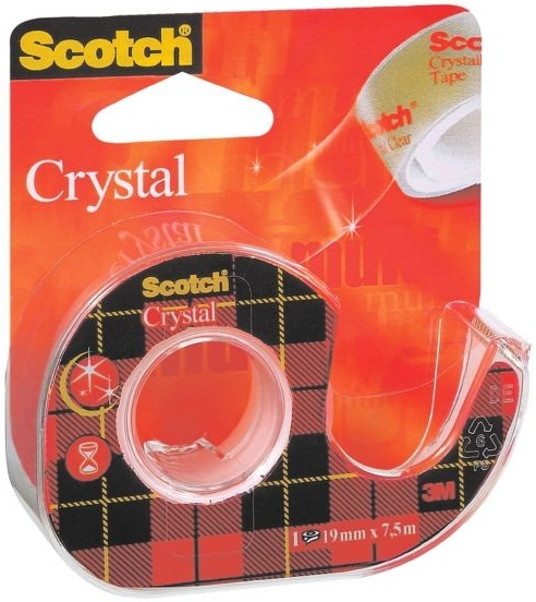Lepící páska 3M Scotch Crystal